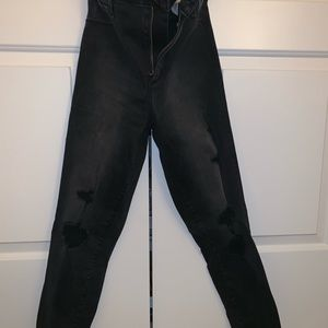 Abercrombie and Fitch high rise jeans